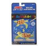 Sealife Color-Reveal Scratch Art Pad