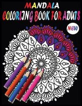 New Mandala Adult Coloring Books