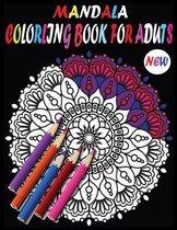 New Mandala Adult Coloring Books