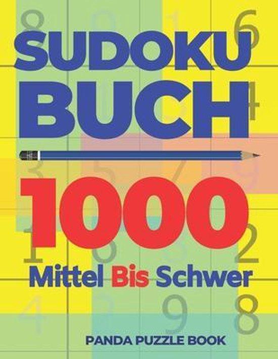 Sudoku Buch 1000 Mittel Bis Schwer