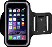 Handige universele telefoonhouder armband –  Zwart