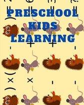preschool kids learning