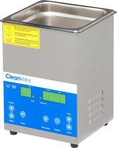 Cleanitex CXD2 - 2 liter set | Professionele ultrasoon reiniger met een krachtige reiniging (Ultrasoonbad, ultrasoon baden, reinigingsbad, ultrasone reiniger, reinigers, ultrasonic cleaner sieraden, brillen apparaat, pedicure)