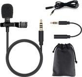 Flanner® Microfoon - Clip-On - Dasspeld - Camera Microfoon - Microphone - Laptop - PC - Windows
