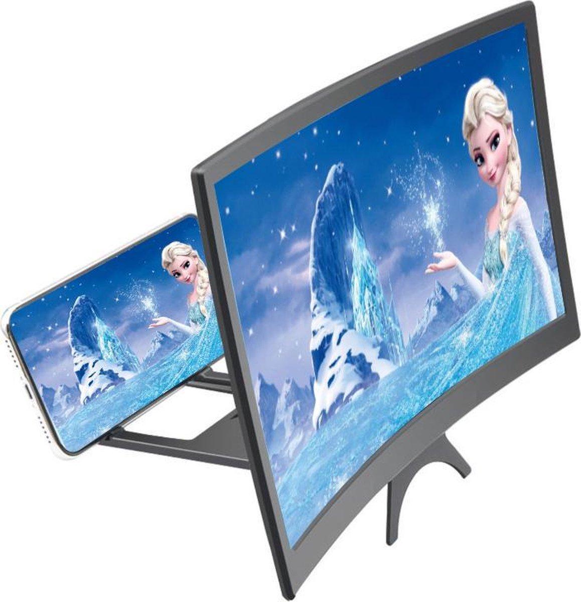 Vergrootglas voor Smartphone - Beeldscherm Vergroter HD - 3D schermvergroter voor Phone - Telefoon V