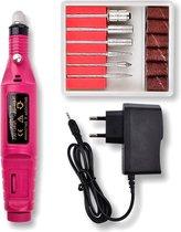 Elektrische nagelvijl - Nagelfrees Machine - Nagelvijl set - Manicure - Pedicure -pedicureset elektrisch - Nagelfrees elektrische - Nagelfrees -