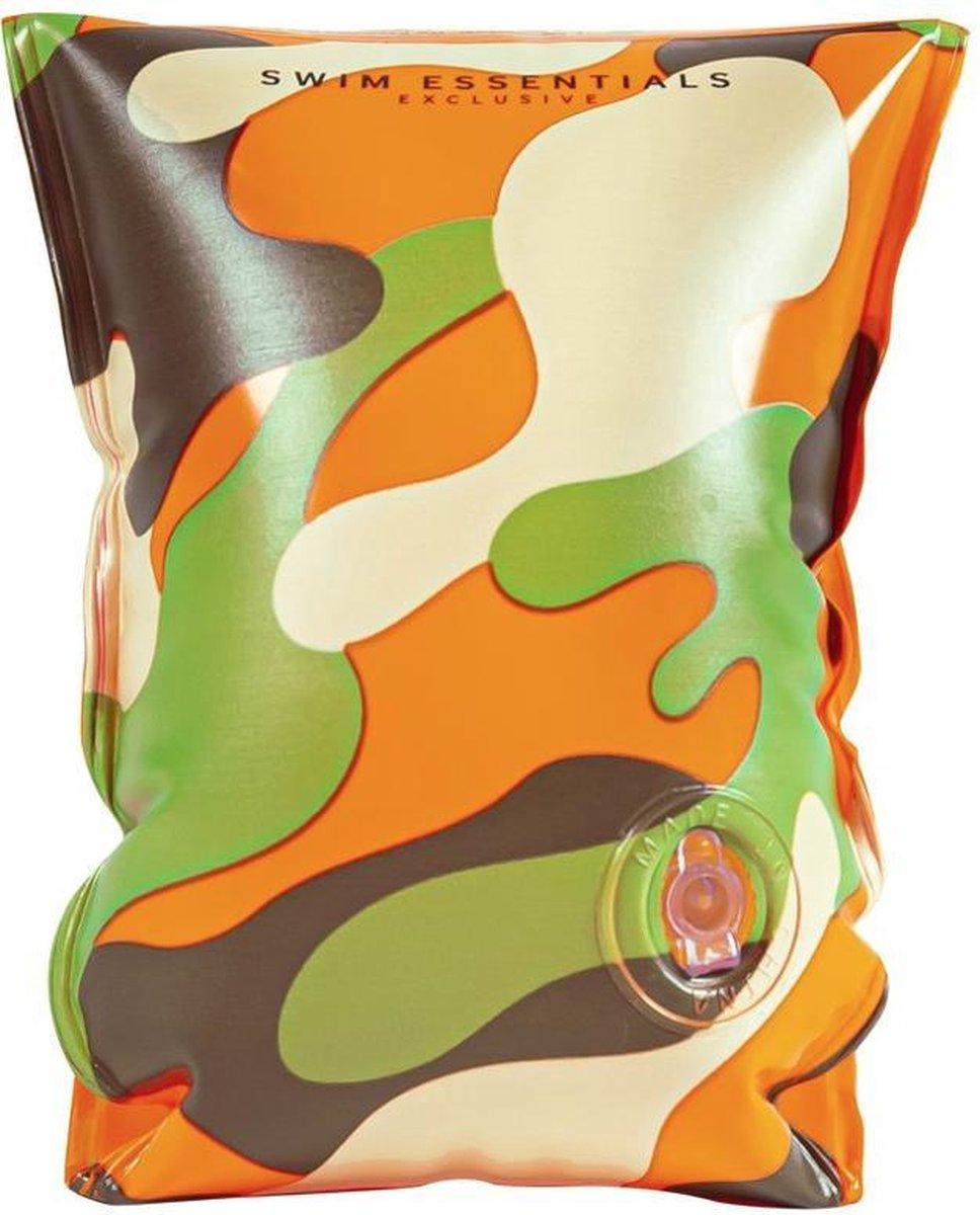 Zwembandjes - camouflage - Leger - Jongen - 2 tot 6 jaar tot 30 kilo - Zwemvleugels - bandjes - zwembad