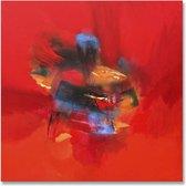 Schilderij met rood