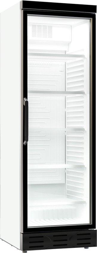 Koelkast: Professionele displaykoelkast met glazen deur | 382 L | 1 glasdeur | Combisteel | 7464.0095 | Horeca, van het merk Combisteel