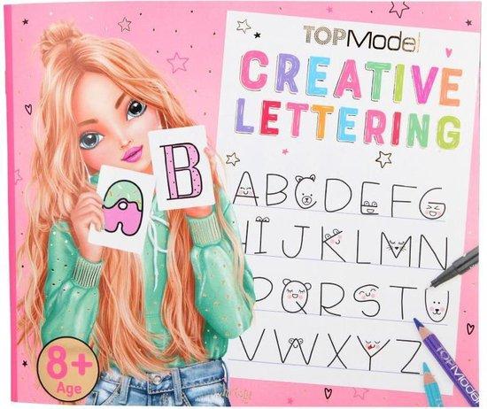 Top Model handlettering creatieve hand lettering schrijf boek