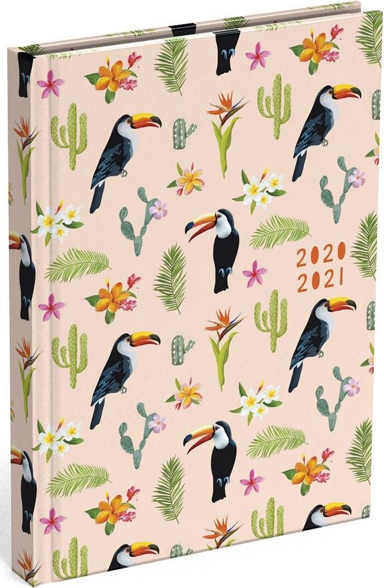 Schoolagenda Good Vibes Toucan 2020 - 2021 (formaat A6+)