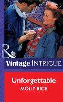 Omslag Unforgettable (Mills & Boon Vintage Intrigue)