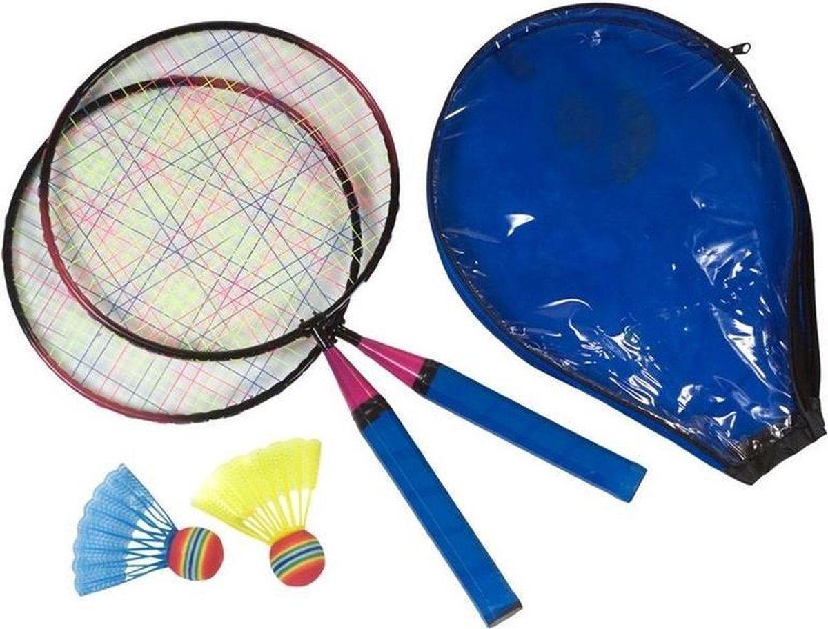 Mini badmintonset voor kinderen - voordelige badminton set speelgoed