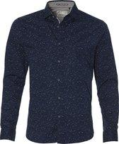 No Excess Overhemd - Modern Fit - Blauw - L