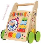 Baby Walker - Baby Speelgoed - Loopwagen - Houten Baby Walker