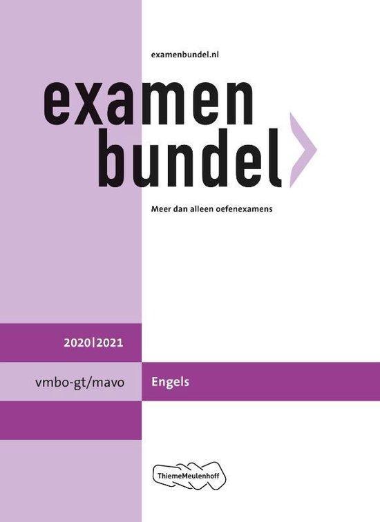 Boek cover Examenbundel vmbo-gt/mavo Engels 2020/2021 van  (Paperback)