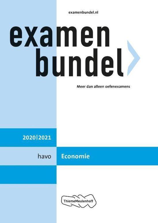 Boek cover Examenbundel havo Economie 2020/2021 van  (Paperback)