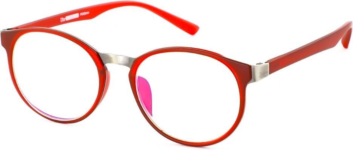 Leesbril Ofar Office LB0194/C rood met blauwlicht filter +3.00 kopen