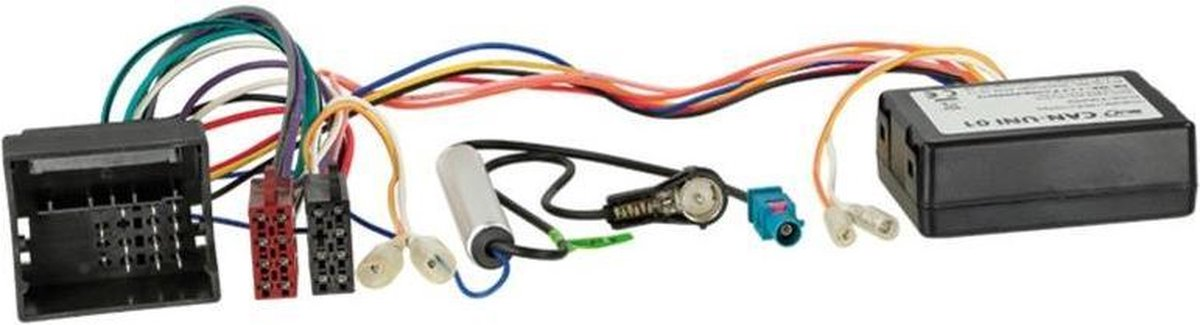 CAN-Bus Kit Opel Quadlock > ISO / Antenne > ISO