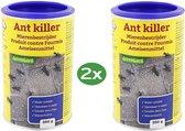 Mierenpoeder - Mieren - Bestrijden - 2 x 250 Gram - Voordeel -GreenGard - Mierengif - Tegen Mieren en Draaigatmier - Ongediertewering - Oplosbaar - Mierenbestrijding