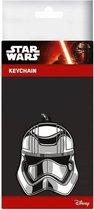 STAR WARS 7 - Rubber sleutelhanger - Captain Phasma 6 Cm