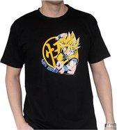 Dragon Ball - Goku Super Saiyan Black Man T-Shirt L