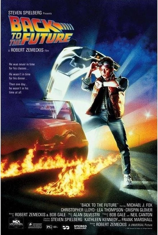 BACK TO THE FUTURE - Poster 61X91 - One Sheet