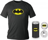 BATMAN - T-Shirt - Logo - DELUXE EDITION (S)