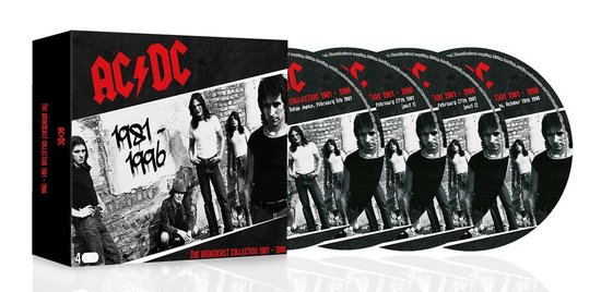 CD cover van The Broadcast Collection 1981 -1996 van AC/DC