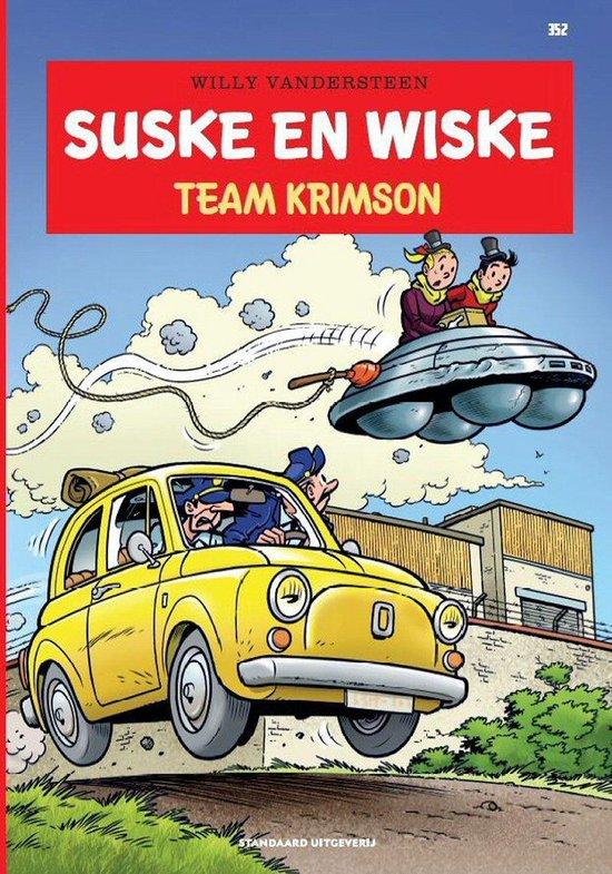 Afbeelding van Suske en Wiske 352 - Team Krimson