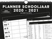 Hobbit familieplanner 2020/2021 - schoolkalender - spiraal - basic - D2 - voor maximaal 5 personen - formaat A4