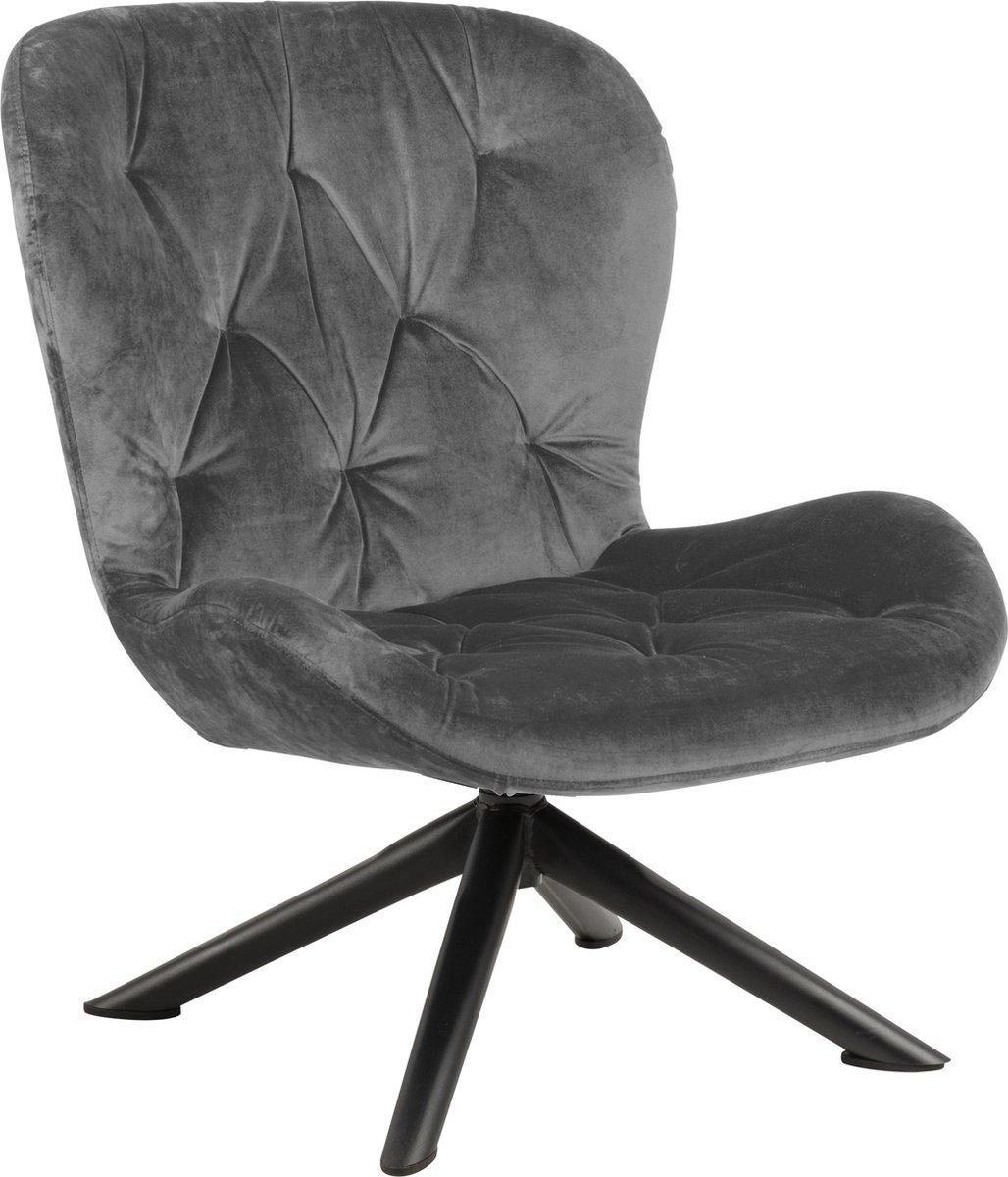 Bali fauteuil grijs.