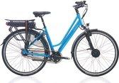 Bol.com-Villette la Ville elektrische fiets - turquoise - Framemaat 51 cm-aanbieding