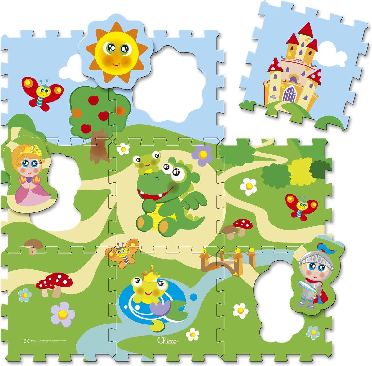 Puzzel tapijt kasteel