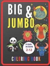 BIG & JUMBO Coloring Book