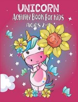 Unicorn Activity Book For Kids Ages 2-4
