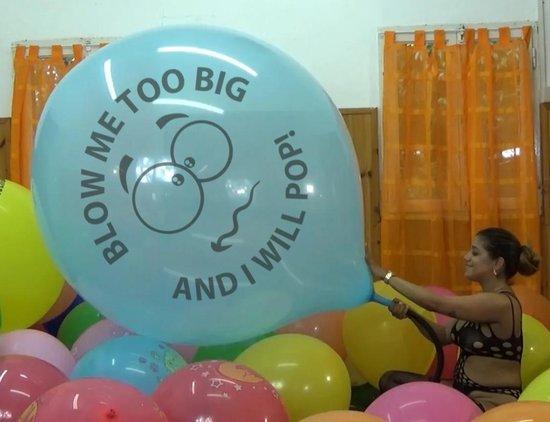 2 Cattex reuze ballonnen - Blow Me Too Big - 36 inch - 90 cm - grote ballonnen