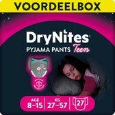DryNites absorberende nachtbroekjes - Girls - 8 tot 15 jaar - 3 x 9 stuks