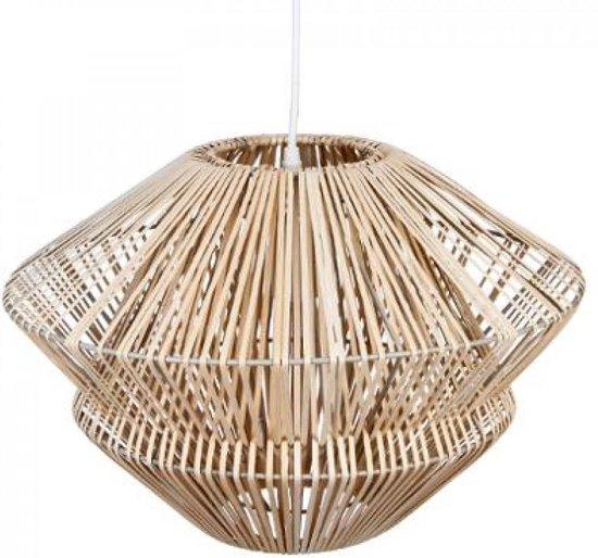 Rotan Hanglamp - Ø45 cm x h30 cm - Naturel Rotan