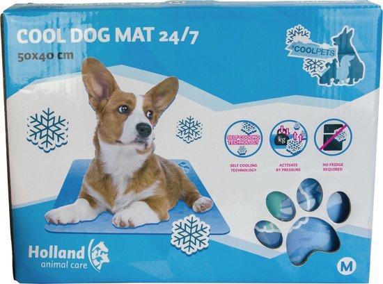 Cool Dog Koelmat 24/7 - 90x60 cm - L - Blauw