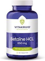 VitaKruid Betaïne HCL 650 mg - 120 tabletten