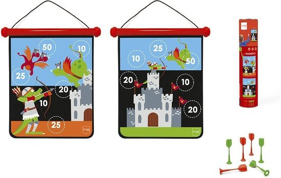 Scratch Magnetisch Dartspel 40 X 31 Cm Ridder
