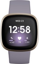 Fitbit Versa 3 - Smartwatch - Lila