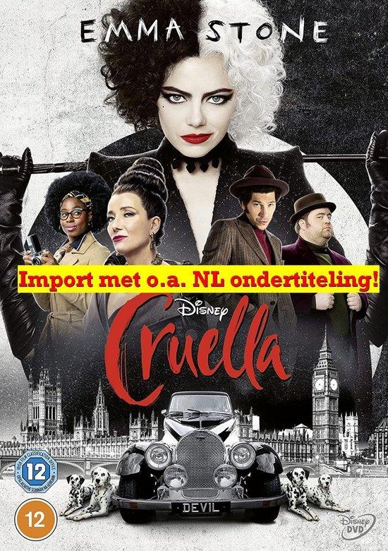 Disney's Cruella DVD [2021]