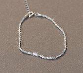 Armband dames   armband dames zilver 925   cadeau voor vrouw