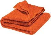 Disana babydeken wol - 100% zachte organische merinoswol - licht als een veder - gevoel van veiligheid en warmte - lekker warm in de winter en aangenaam koel in de zomer - kleur oranje