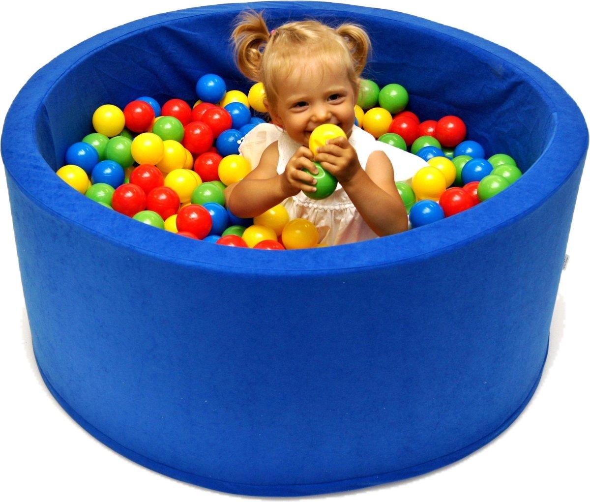 Ballenbak XL incl ballenbak ballen - Blauw
