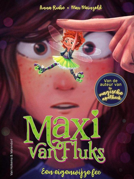 Boek cover Maxi van Fluks 1 - Een eigenwijze fee van Anna Ruhe (Hardcover)