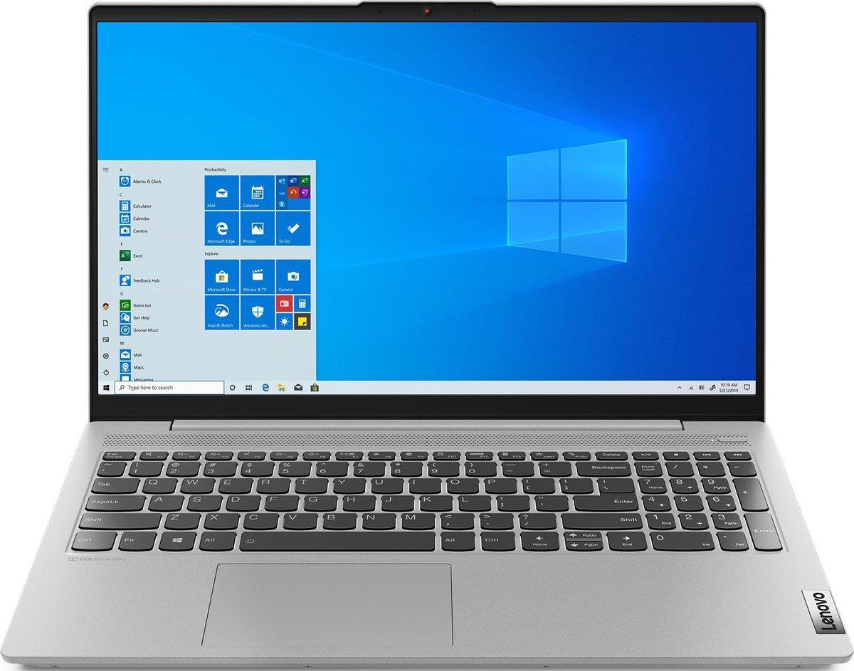 """Lenovo IdeaPad 5 DDR4-SDRAM Notebook 39,6 cm (15.6"""") 1920 x 1080 Pixels AMD Ryzen 5 16 GB 1256 GB HDD+SSD Wi-Fi 6 (802.11ax) Windows 10 Home Grijs"""