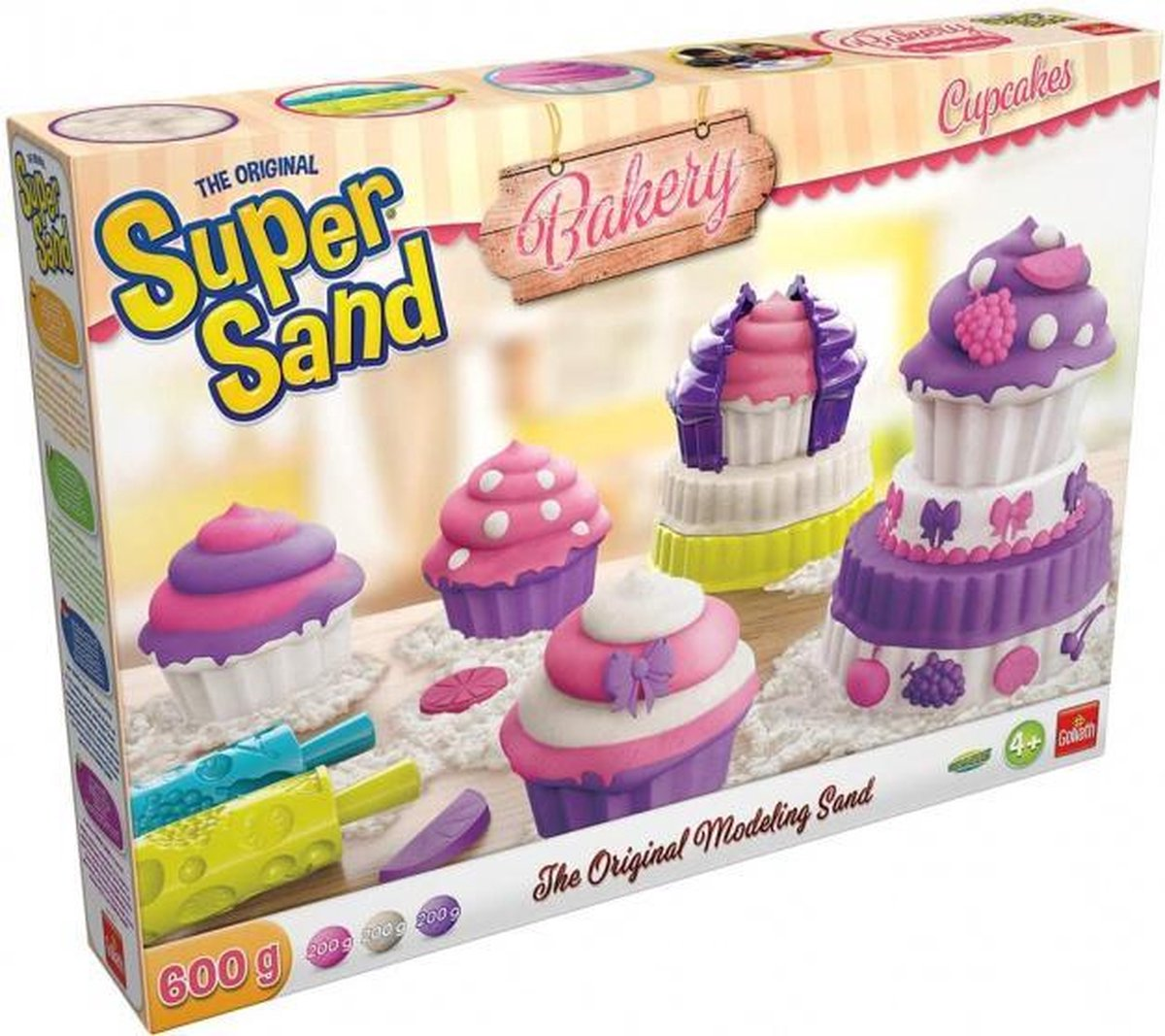 Super Sand Cupcakes speelzand